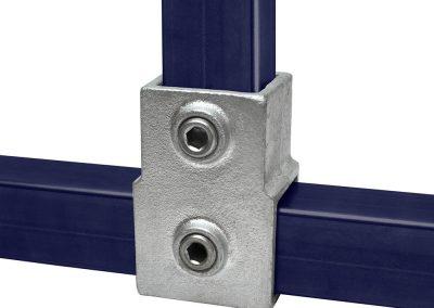 Vierkant T-Stück, kurz - 40 mm