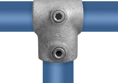 Stahlguss T-Verbinder 90° - kurz