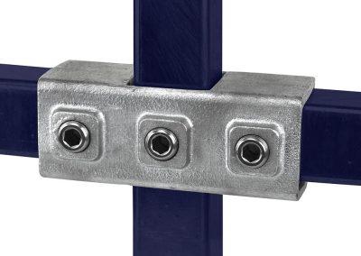 Vierkant, Kreuzstück, durchgehend - 40 mm