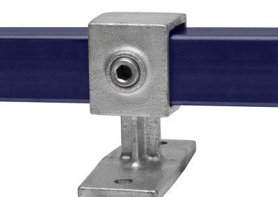 Vierkant, Handlaufhalterung - 40 mm