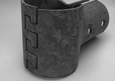 Rohrverbinder Stahlblech Klauenschelle (Mischgrösse)