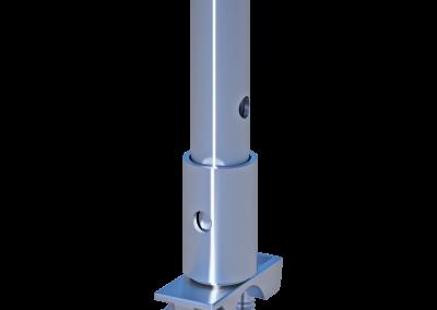 Rohrverbinder mit Halbkupplung