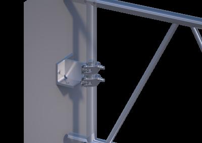 Wand-Deckenkupplung